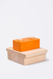 Wooden baby block Stock Photography