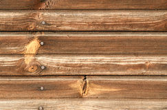 Wooden background. Closeup of the wooden wall Royalty Free Stock Photo
