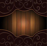 The wooden background Royalty Free Stock Photos