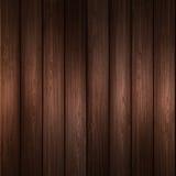 Wooden  background. Vector illustration  wooden plank background Stock Image