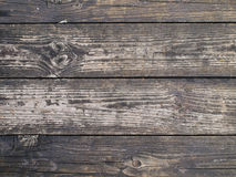 Wooden Background. Old wooden Walkway at Sirikit Dam Royalty Free Stock Photography