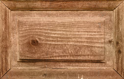Wooden background. Old wooden framed textured background Stock Photography