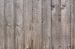 Wooden background. Obsolete wooden rough planks backgrounds Stock Images