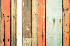Wooden background and alternative construction texture. Wooden background and alternative construction material - Texture on multicolored wood panel in modern Royalty Free Stock Photo