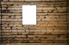 Wooden Background and Billboard Stock Photos