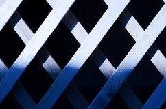 Wooden background in blue. royalty free stock photos