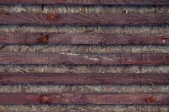 Wooden background of the boards. stock image