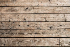 Wooden background of boat desks Stock Photos
