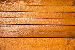 Wooden background brown color.horizontal. Nature style Royalty Free Stock Photography