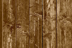 Wooden background. Brown grunge texture of wood board Royalty Free Stock Image