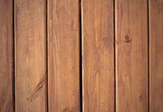 Wooden background. Brown grunge texture of wood board. Royalty Free Stock Photo