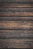 Wooden background. Brown wooden background from old wood Royalty Free Stock Photography