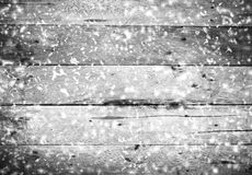 Wooden background for Christmas. Rustic Wood wall with white fal Stock Images