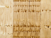 Wooden background. Close up of plywood as used for background Royalty Free Stock Image