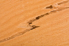 Wooden background crack Stock Image