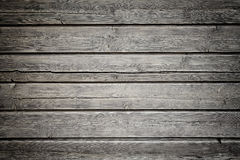 Wooden background with daek vignette Stock Photo
