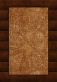 Wooden background. Wooden frame, border Stock Photography