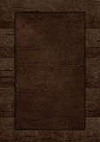 Wooden background. Wooden frame, border Royalty Free Stock Image