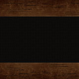 Wooden background. Wooden frame, border Royalty Free Stock Photo