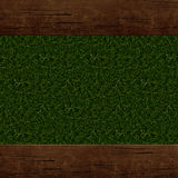 Wooden background. Wooden frame, border Royalty Free Stock Photos