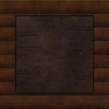 Wooden background. Wooden frame, border Stock Image