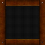 Wooden background. Wooden frame, border Royalty Free Stock Photography