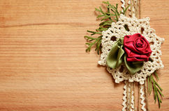 Background and handmade composition Stock Image