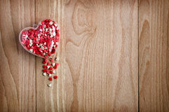 Wooden background holiday background Stock Photos