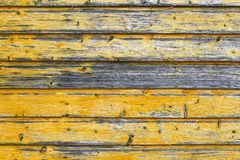 Wooden background with horizontal boards Royalty Free Stock Images