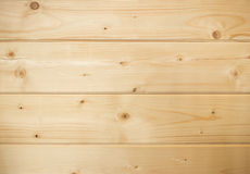 Wooden background with horizontal boards Stock Photography