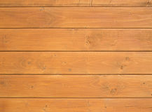 Wooden background with horizontal boards Royalty Free Stock Photo