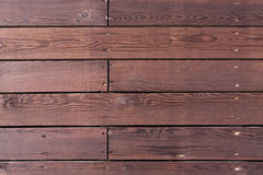 Wooden background with horizontal boards Stock Image