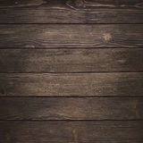 Wooden Background. Natural brown wood wall texture Stock Illustration
