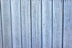 Wooden background. The old board. Old boards painted with blue paint. Horizontal. Selective focus Stock Photo