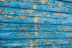 Wooden background. Old wooden structure with a shabby paint Stock Images