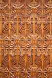 Wooden background ornaments Stock Photos