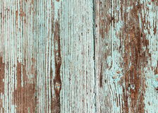 Wooden background with peeling paint Royalty Free Stock Photos