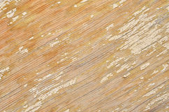 Wooden background with peeling paint Royalty Free Stock Photo