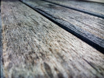 Wooden background in Perspective Stock Image