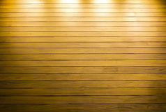 Wooden background with reflection light Stock Image