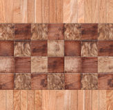 Wooden background, squares in a checkerboard pattern. Wooden background, a checkerboard pattern Stock Photography