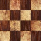 Wooden background, squares in a checkerboard pattern. Wooden background, squares in checkerboard pattern Royalty Free Stock Images