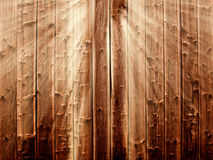 Wooden background in sunbeams Stock Photo