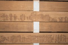Wooden background surface with old natural pattern. Grunge surface wooden background top view. Wall of old wood backgrounden plank Stock Images