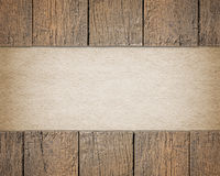 Wooden background and text space Royalty Free Stock Photos