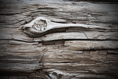 Wooden Background Or Texture With Knothole, Copy Space And Frame Stock Images
