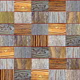 Wooden background texture pieces of colored wood, dark, light. For the background stock images