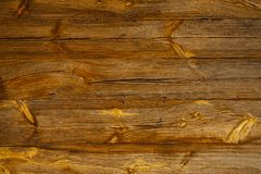 Rustic old striped board. Royalty Free Stock Image