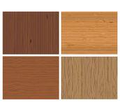 Wooden background vector Royalty Free Stock Photography