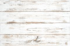 Wooden background white colored plank Natural wood pattern. Wooden background with white colored plank. Natural wood pattern stock image